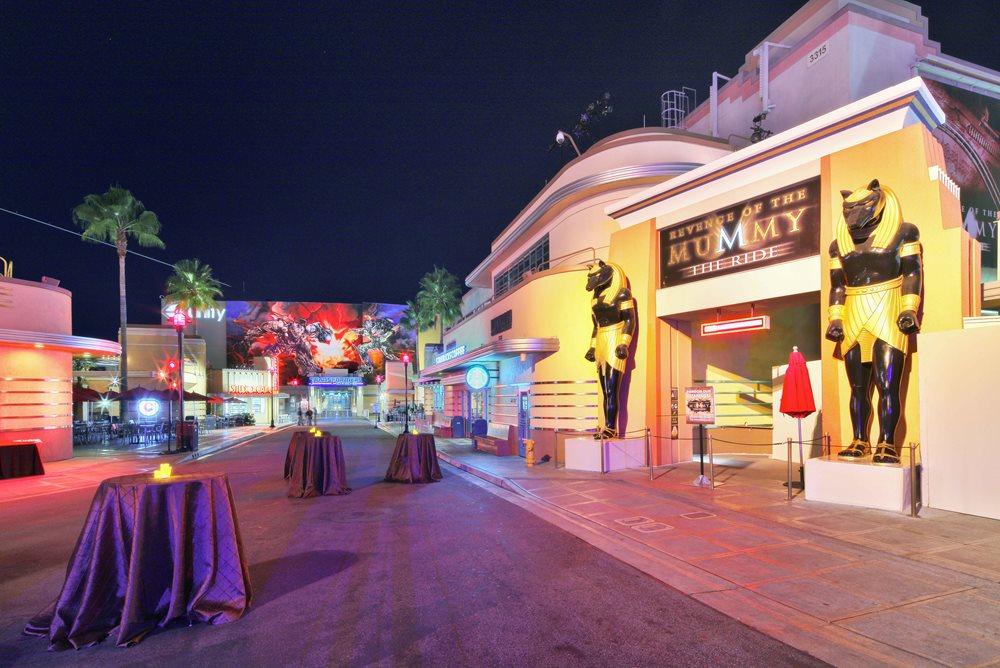 Universal Studios Hollywood Lower Lot Event Venue