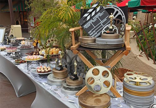 Universal Studios Hollywood Catering.
