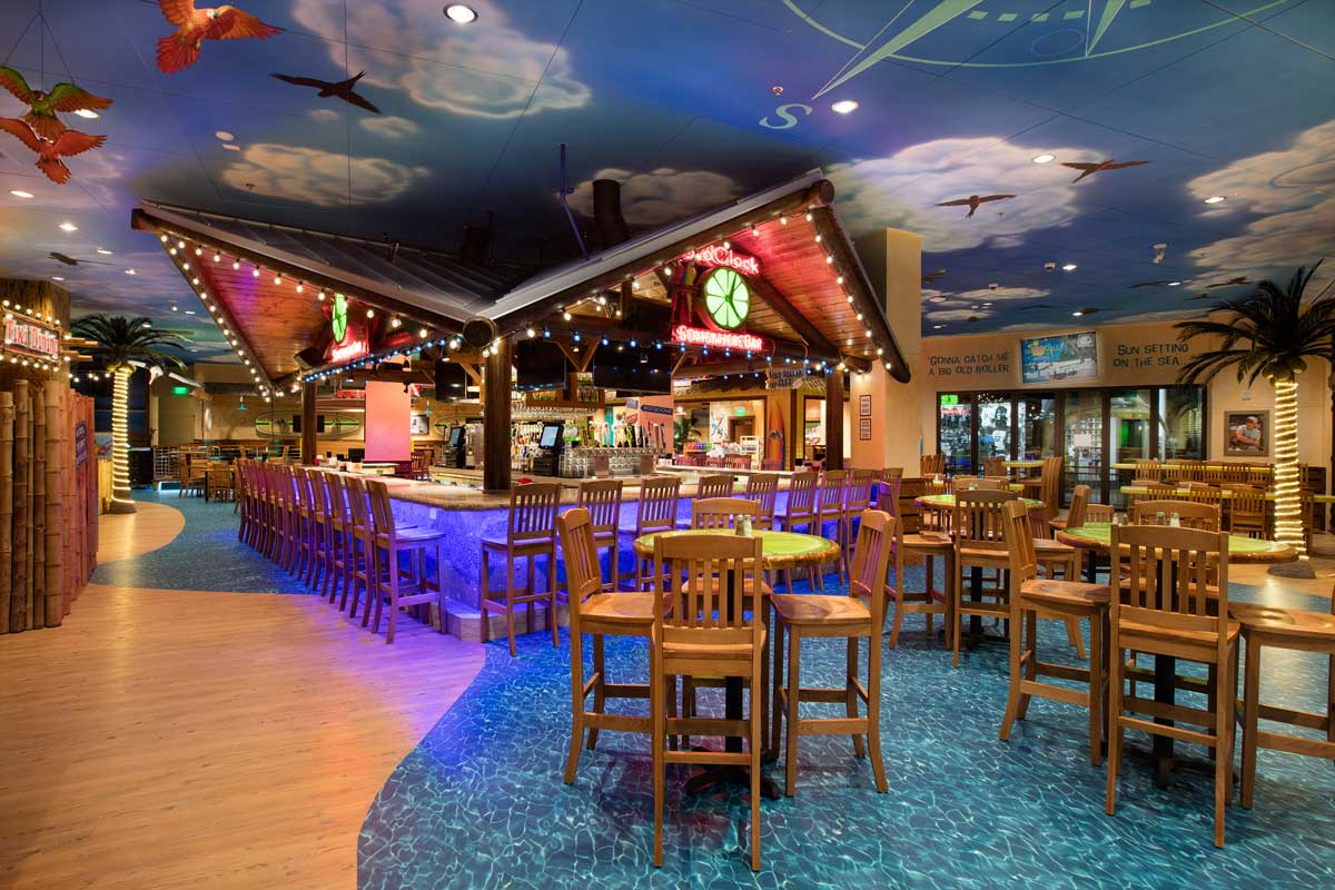 Jimmy Buffet's Margaritaville in CityWalk.