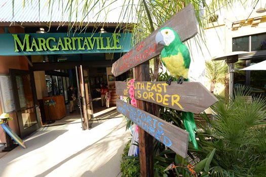 Jimmy Buffett's Margaritaville.