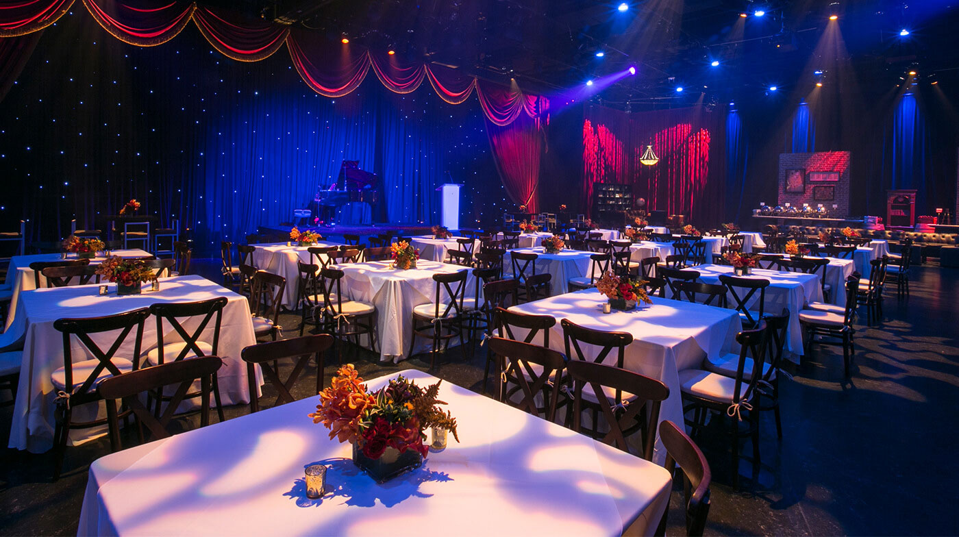 Elegant meeting event at Universal Studios Hollywood.